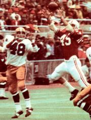 Bob Terrio interception