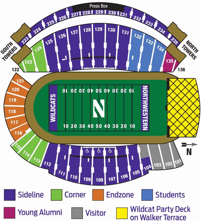 Ryan Field Northwestern S Stadium Huskermax
