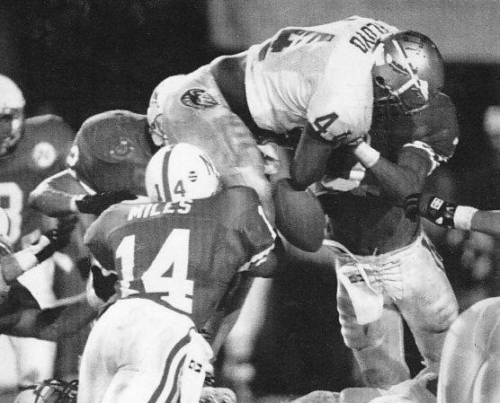 William Floyd fumble touchdown