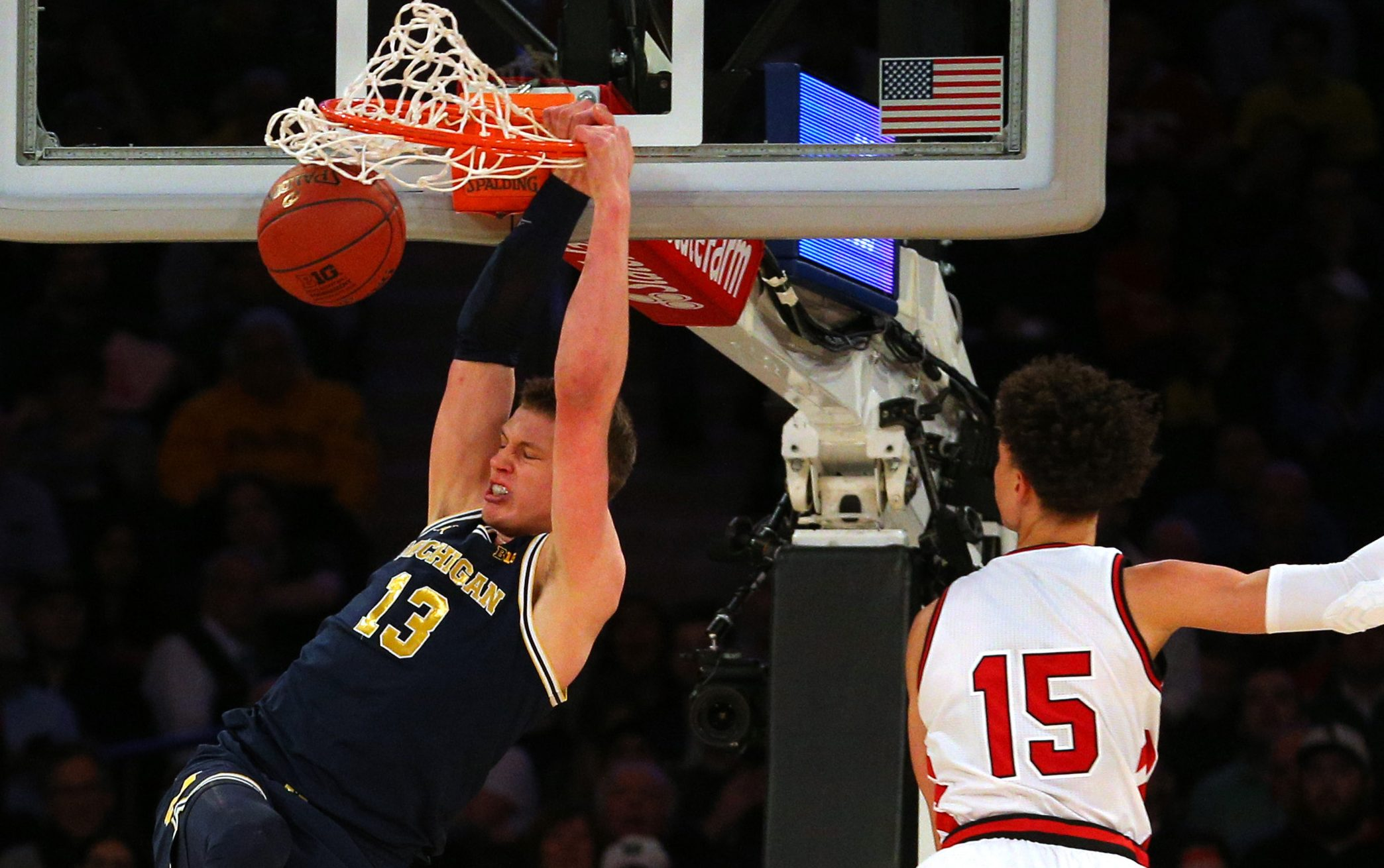 Nebraska Vs Michigan 2018 Big Ten Men S Basketball Tourney