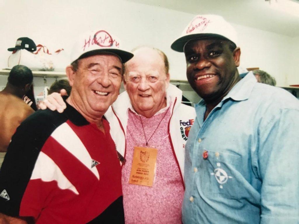 George Sullivan, Bob Devaney & Gene Huey