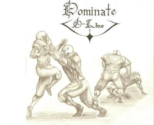 Dominate O-Line artwork