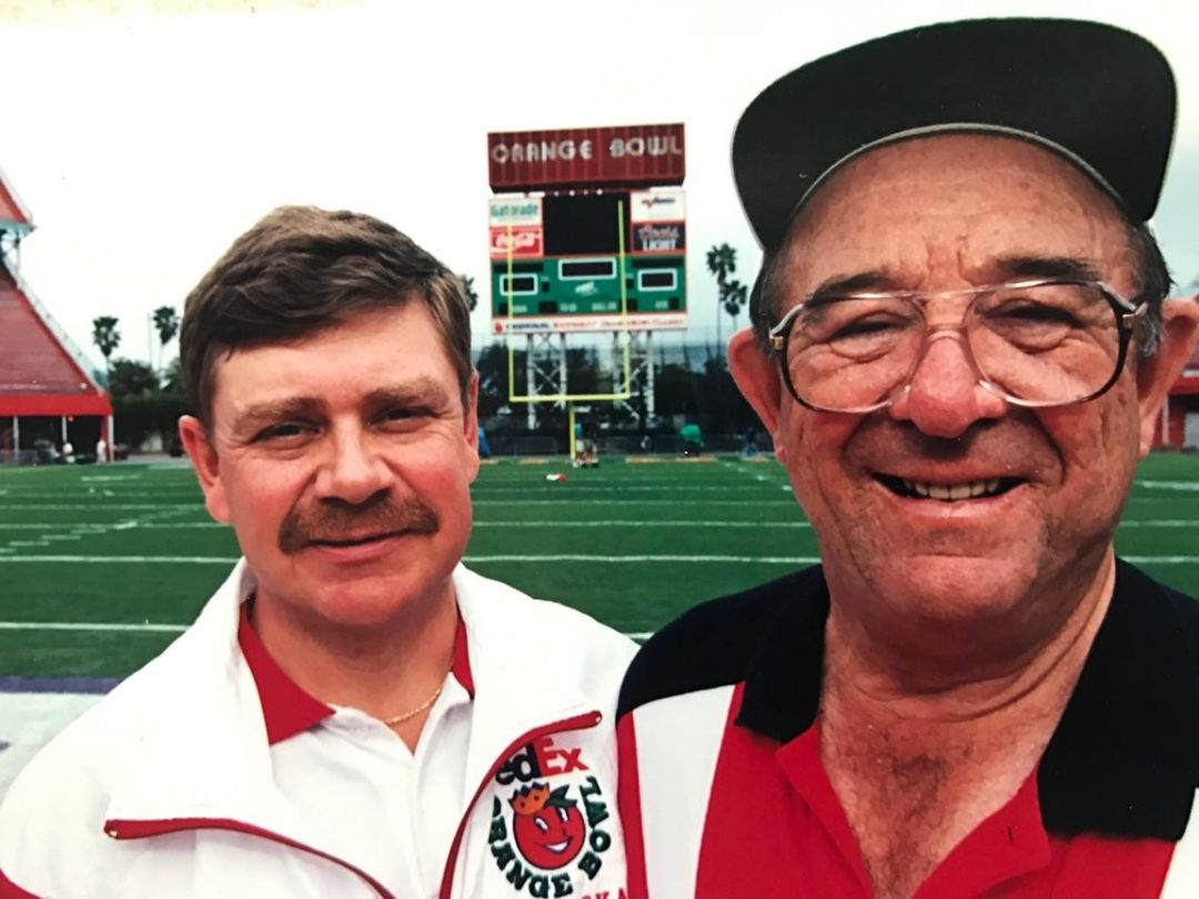 Trainers Jerry Weber & George Sullivan in Miami