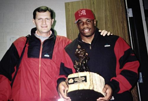 Trainer Doak Ostergard and Lawrence Phillips