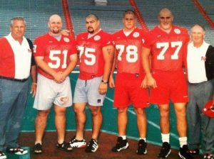 '96 offensive linemen & coaches