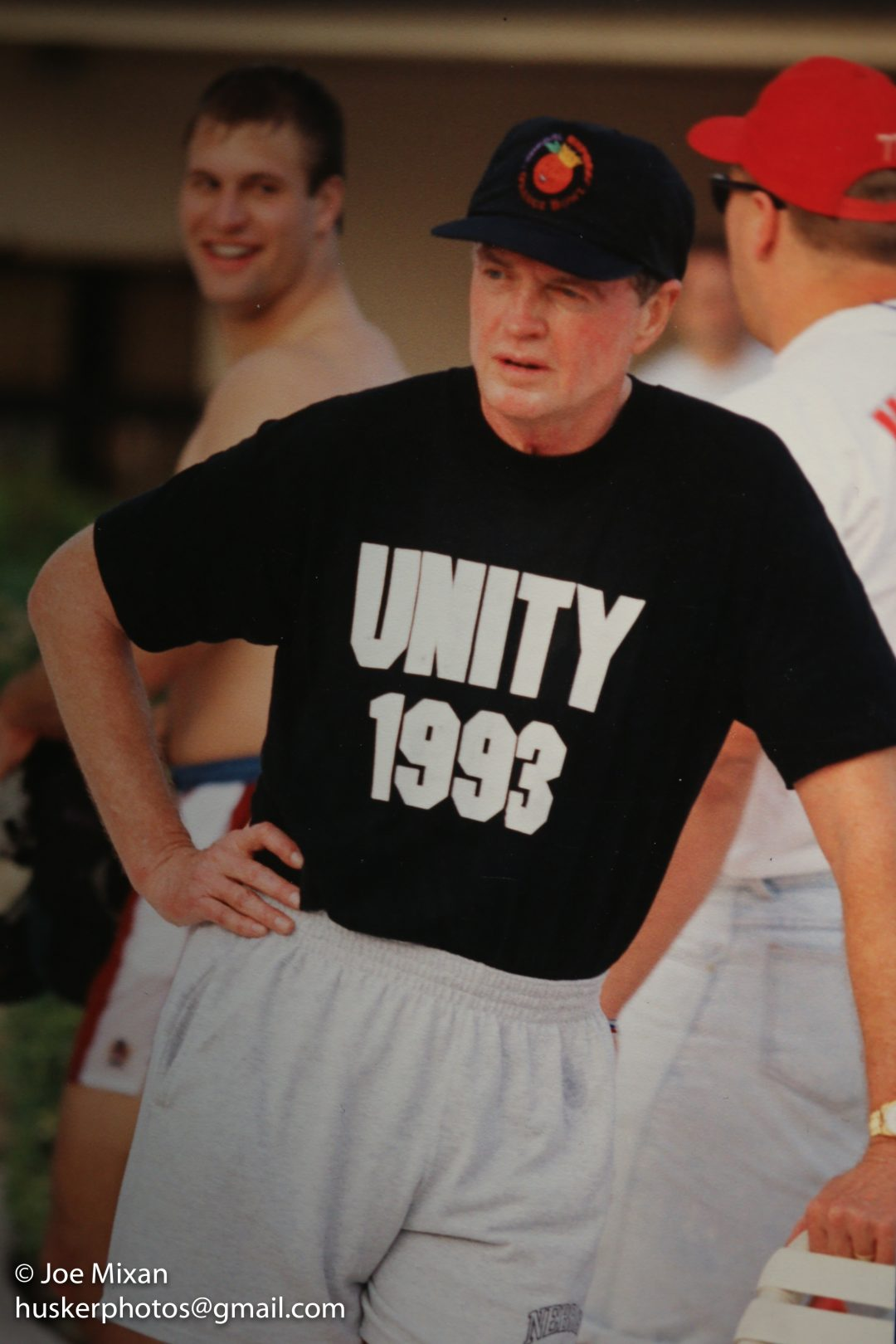 Tom Osborne and the Unity theme.