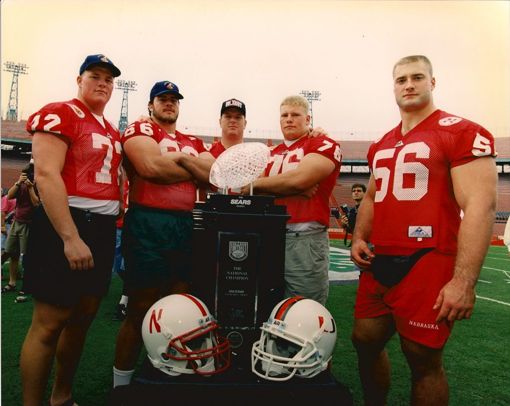 Rob Zatechka #56 (far right)
