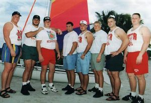 The Pipeline: Miami '94: Rob Zatechka (2nd from right)