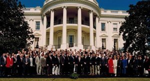 '94 Huskers visit the White House