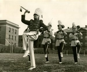 Dwayne Wolf 1941 Drum Major