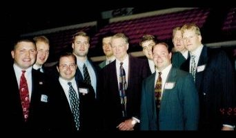 Schmadeke twins and Tom Osborne