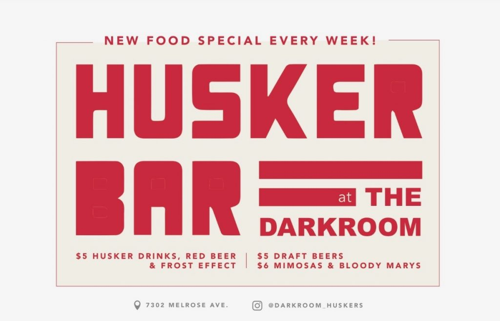 New watch Site - Huskers at The Dark Room Bar in Hollywood