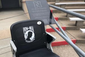 Chair and plaque
