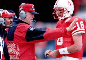 Tom Osborne and Brook Berringer