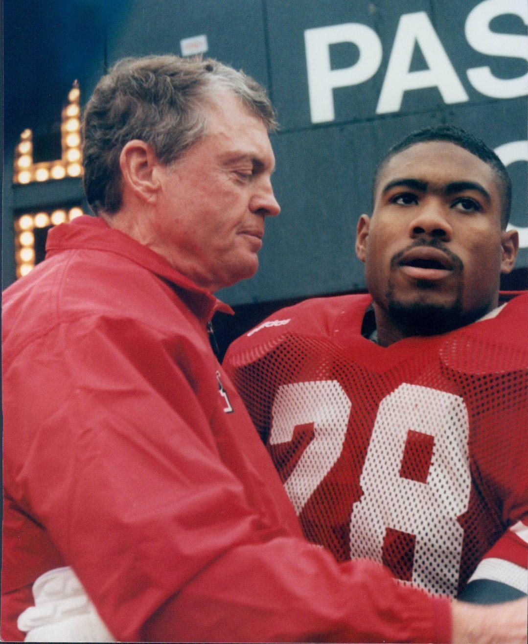 Tom Osborne and Jamel Williams