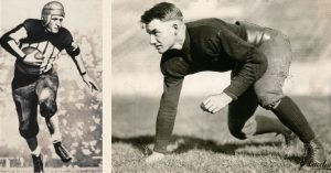 Red Grange and Ed Weir