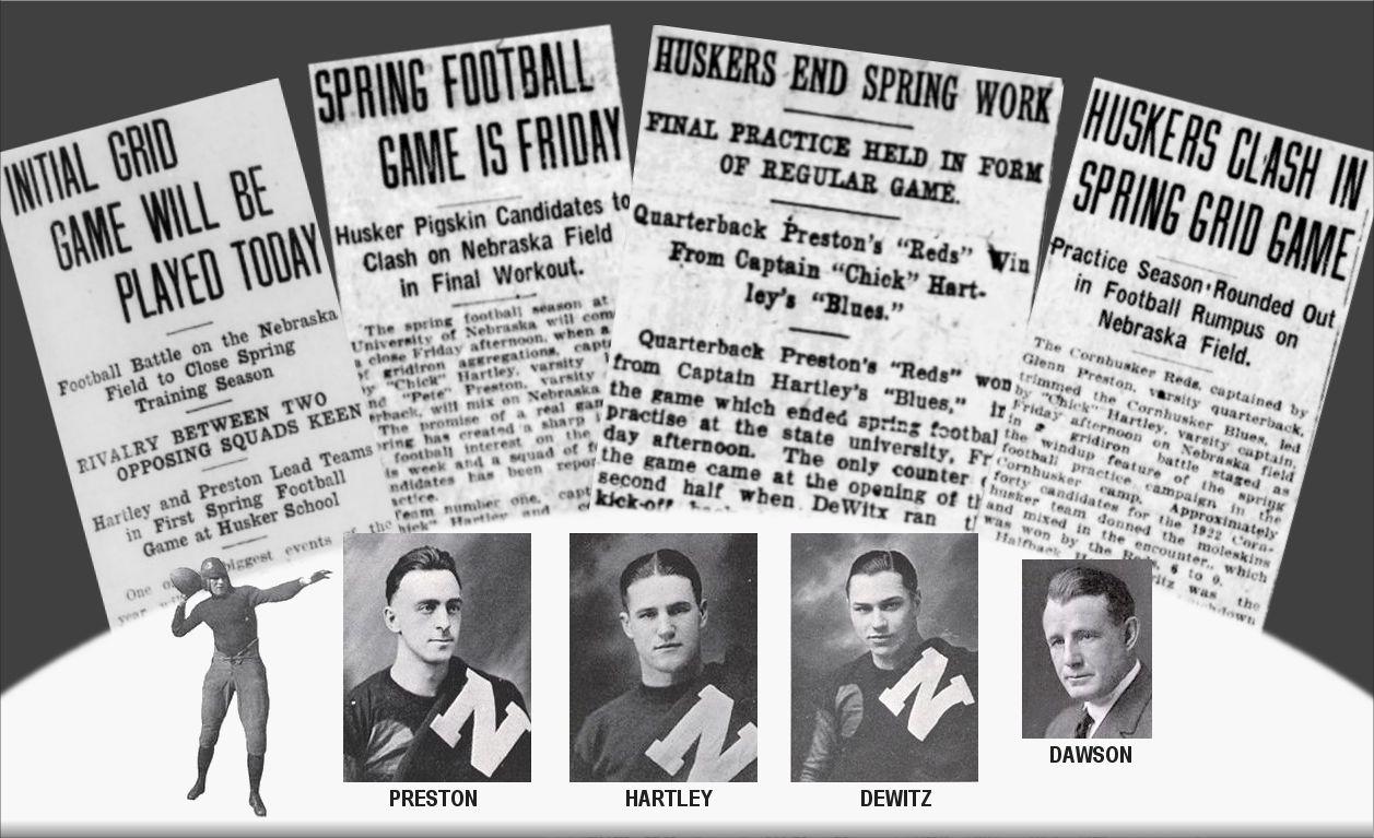 1922 spring game