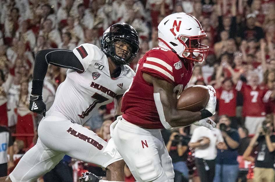Dedrick Mills touchdown
