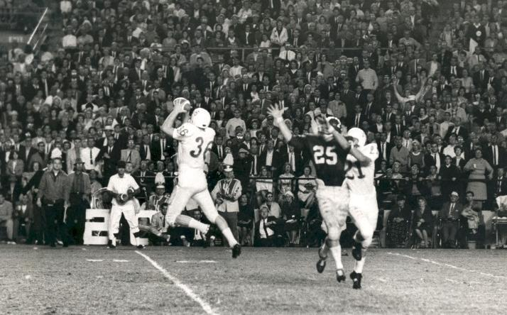 Larry Wachholtz interception