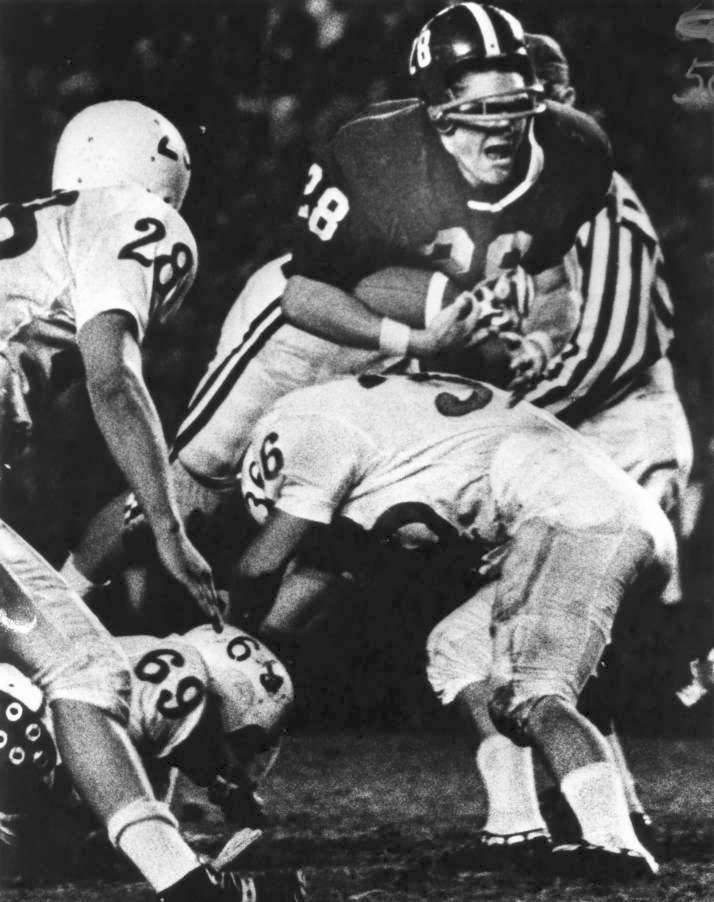 Larry Wachholtz tackle