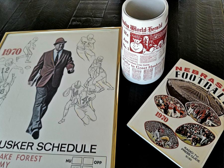 Mementos: Poster, cup and booklet