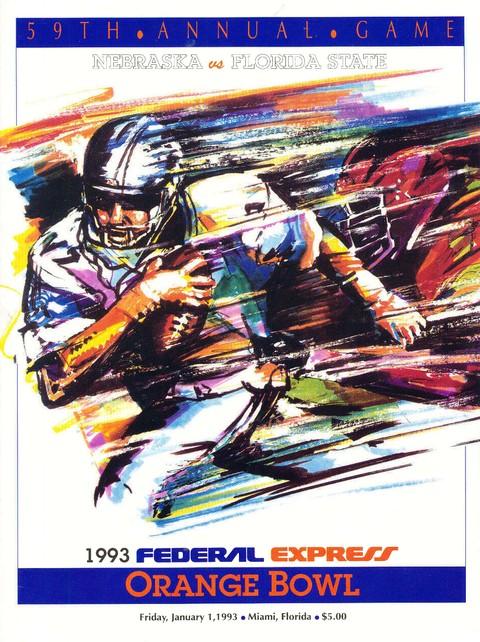 Bowl program cover