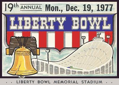 1977 Liberty Bowl ticket