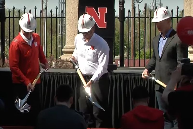 Ted Carter, Ronnie Green and Scott Frost